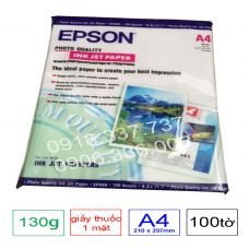 Giấy in màu 1 mặt Epson , định lượng 130g A4